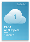 All Subjects of EASA Syllabus - 1 Month