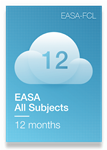 All Subjects of EASA Syllabus - 12 Months