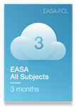 All Subjects of EASA Syllabus - 3 Months