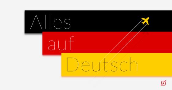 Alles auf Deutsch