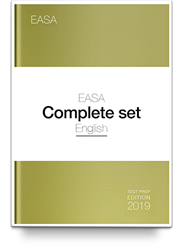 Set of 13 EASA exam preparation eBooks Edition 2019